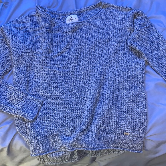 Hollister Grey Knitted Sweatshirt